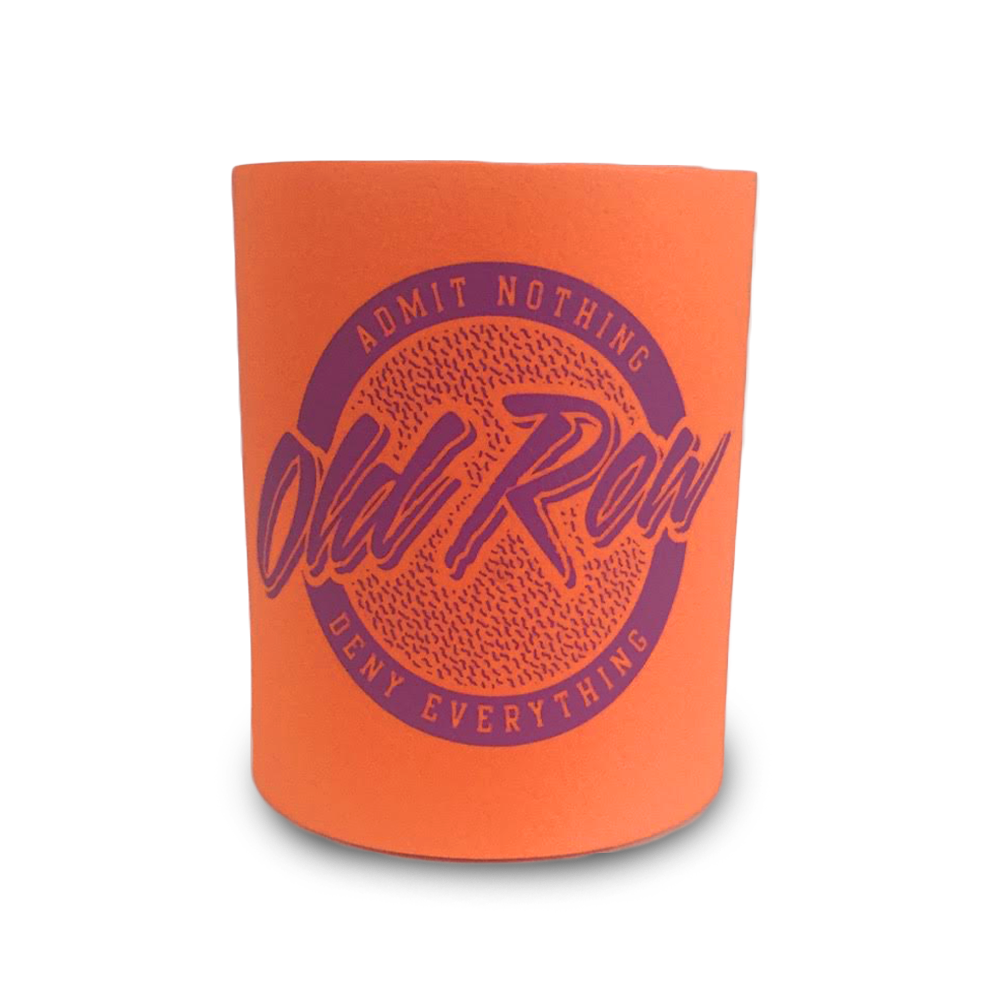 Fat Foam Tailgate Koozie - Orange