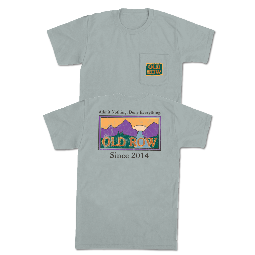 edfe42c9 Old Row Sunset Pocket Tee | Old Row