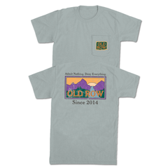 Old Row Sunset Pocket Tee
