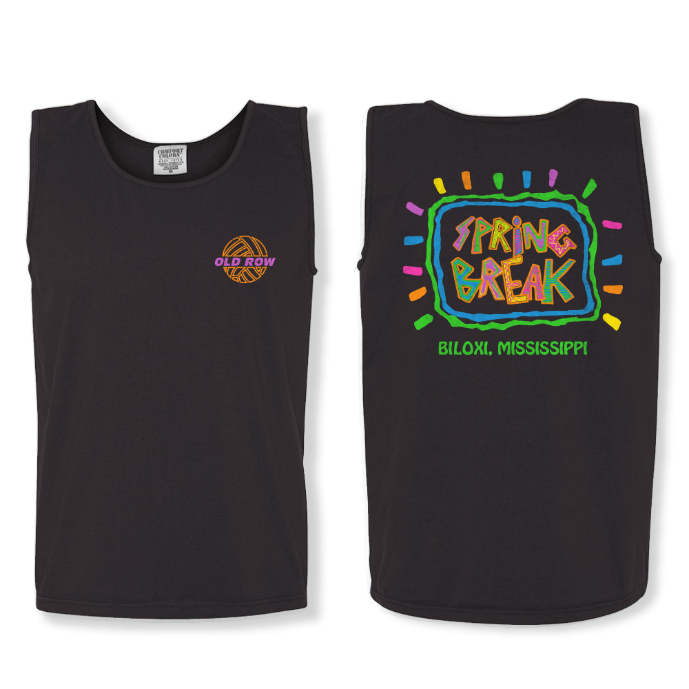 Spring Break Biloxi Tank Top