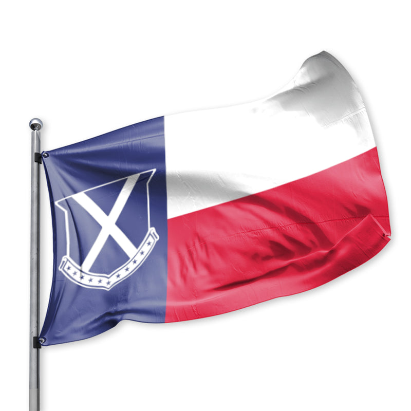 Old Row Texas Flag