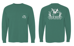 Old Row Outdoors Waterfowl Longsleeve Pocket Tee