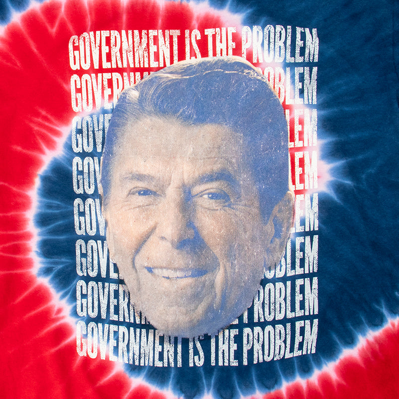 Government Is The Problem Tie Dye Tee