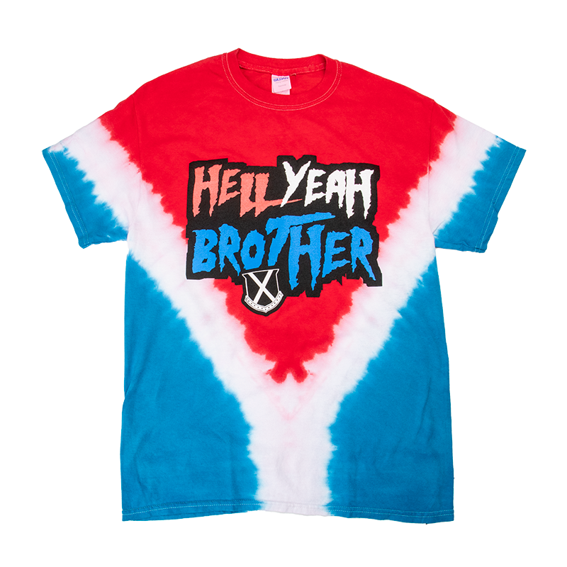 Hell Yeah Brother Tie Dye T-Shirt