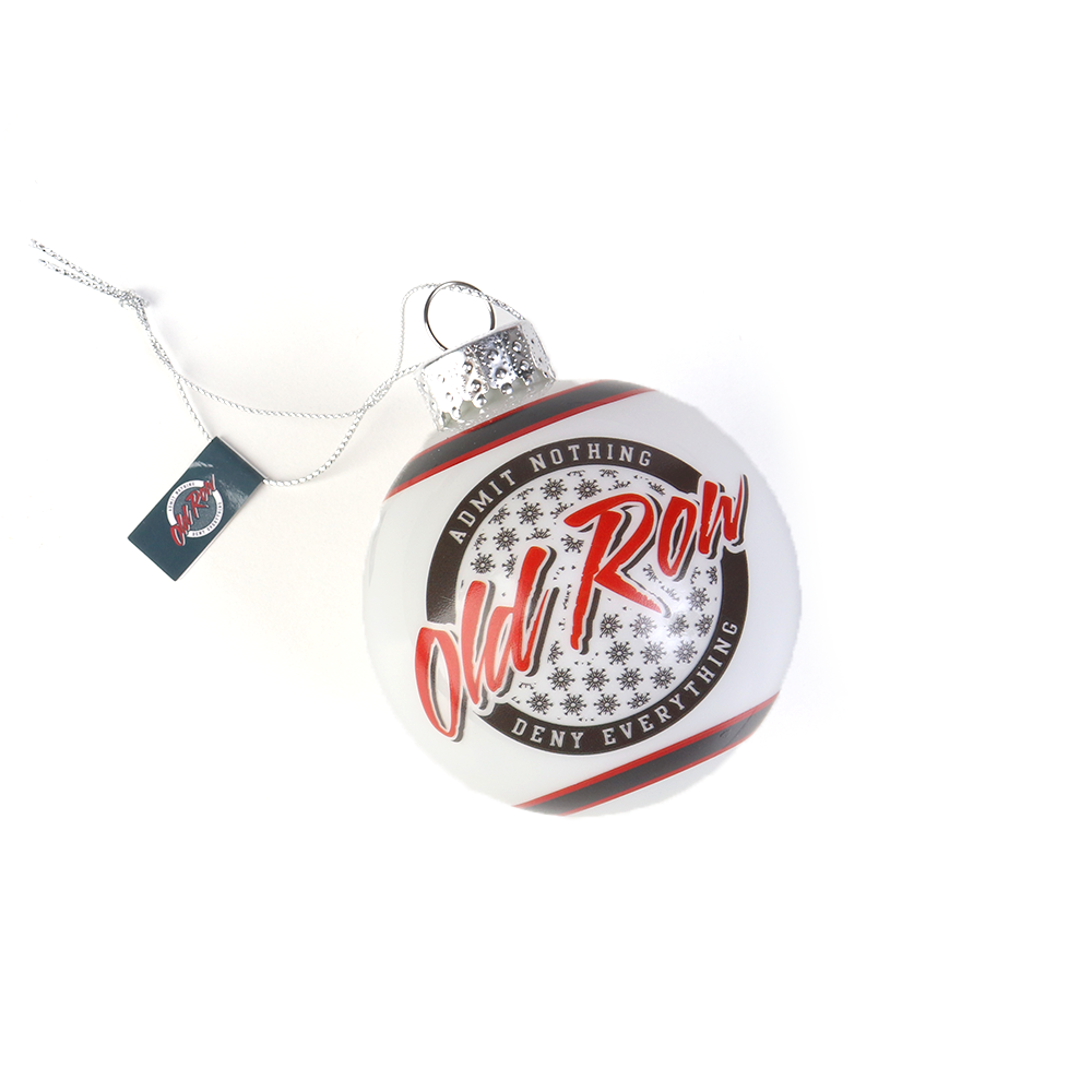 Old Row Winter Logo Christmas Ornament