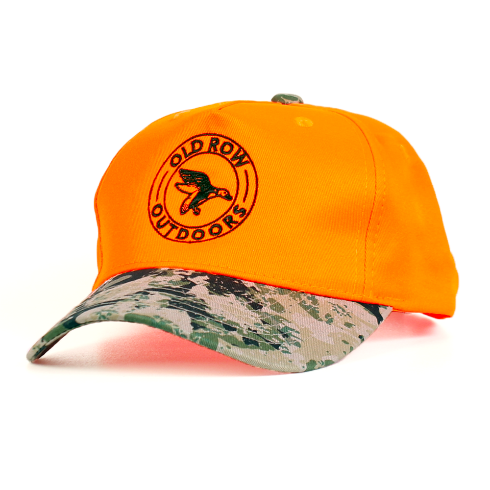 Old Row Outdoors Hunter Orange Duck Hat