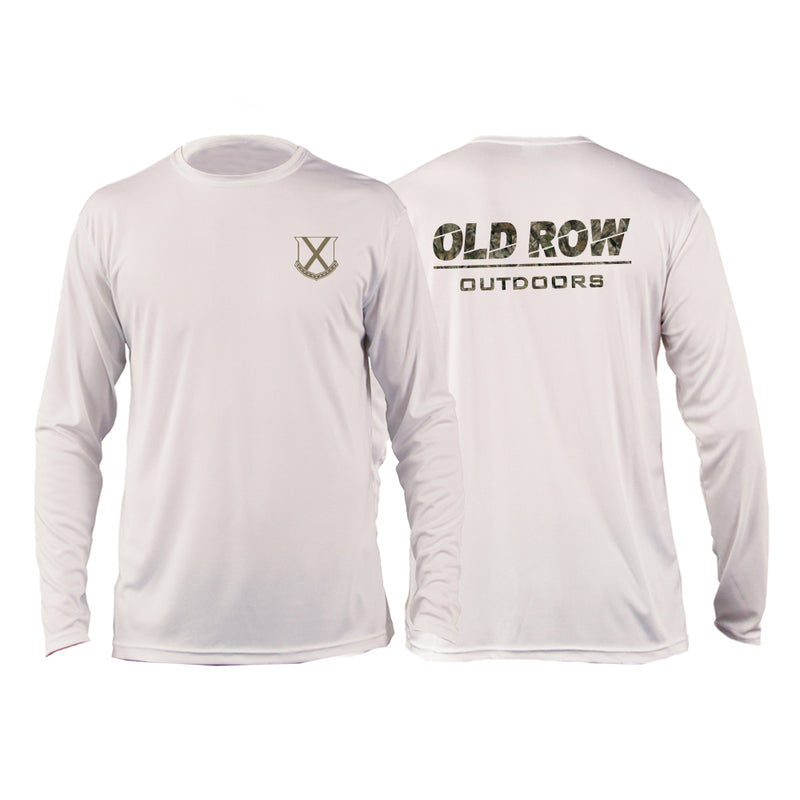 Old Row Outdoors Camo Sun Shirt