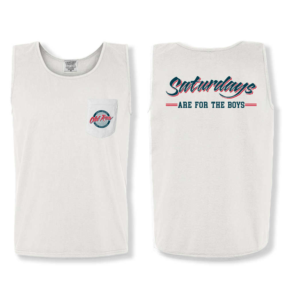 Saturdays are for the Boys Pocket Tank