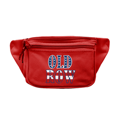 Deluxe 3 pocket fanny pack