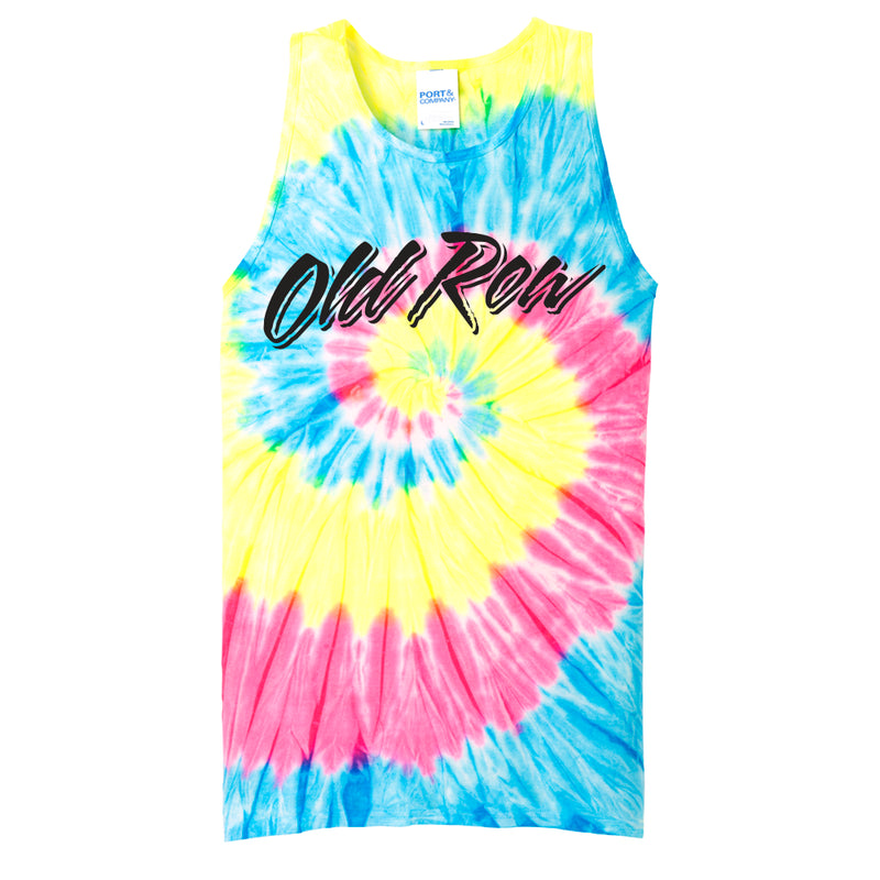 Old Row Tie Dye Tank Top