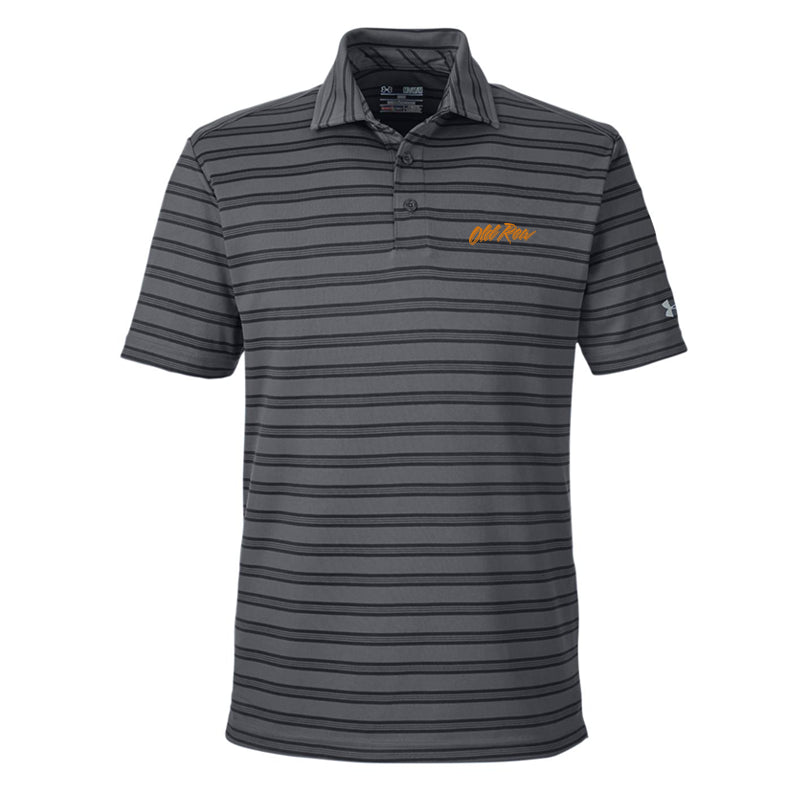 Old Row Under Armour Striped Polo