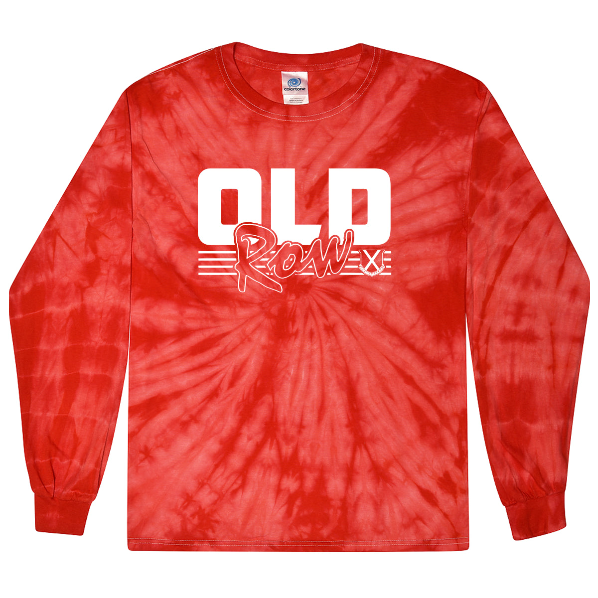 Old Row Retro Tie Dye Long Sleeve Tee