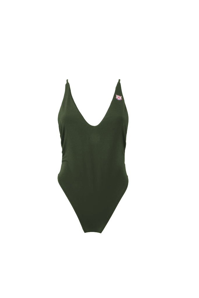Old Row One Piece Swimsuit