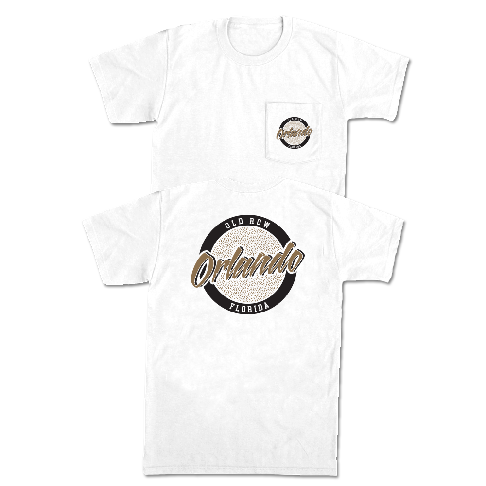 Orlando, Florida Circle Logo Pocket Tee