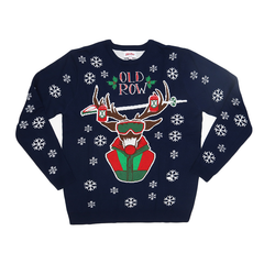 Christmas Party Buck Premium Knit Sweater