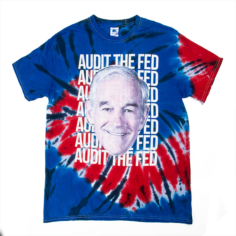 Audit The Fed Tie Dye Tee