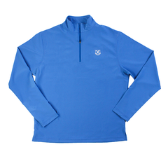 Old Row Alumni Quarter Zip Pullover (Light Blue)