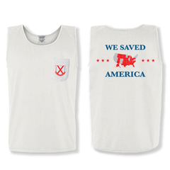 Old Row Red State Pocket Tank