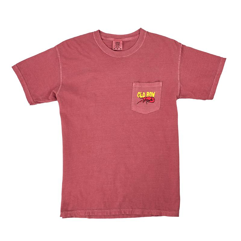 Crawfish Pocket Tee