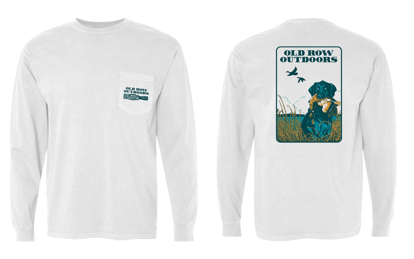 Old Row Outdoors Retriever Long Sleeve Pocket Tee