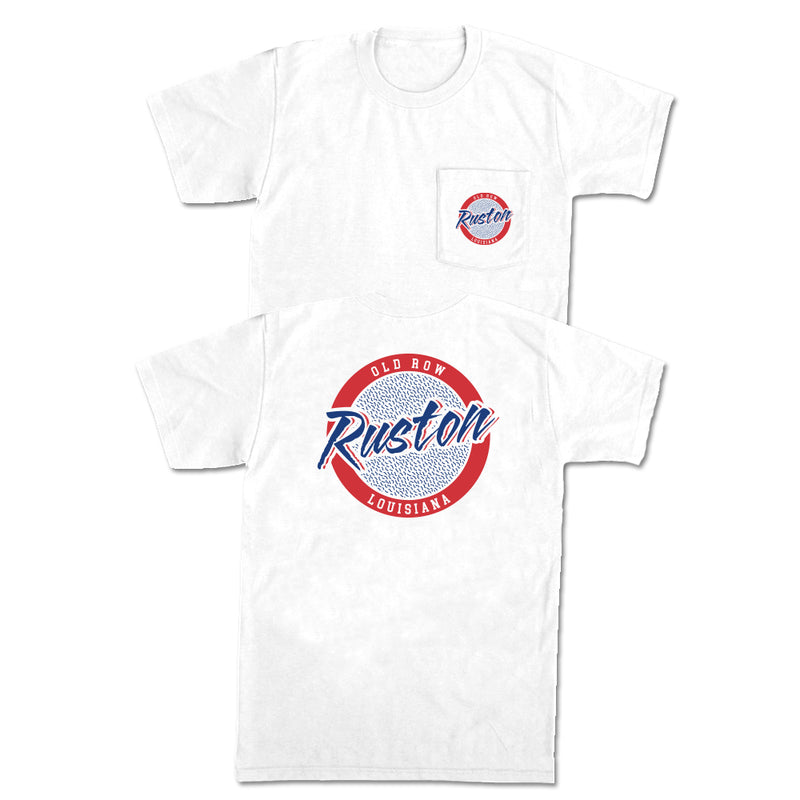 Ruston, Louisiana Circle Logo Pocket Tee