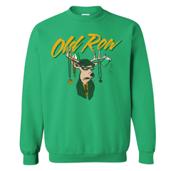 St. Paddy's Party Buck Crewneck Sweatshirt