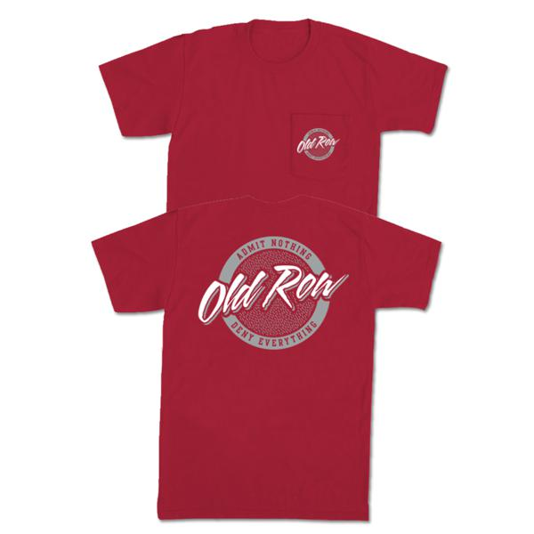 Old Row Tailgate Pocket Tee (Crimson)