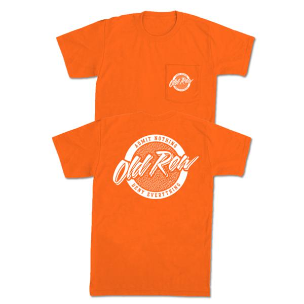 Old Row Tailgate Pocket Tee (Orange)