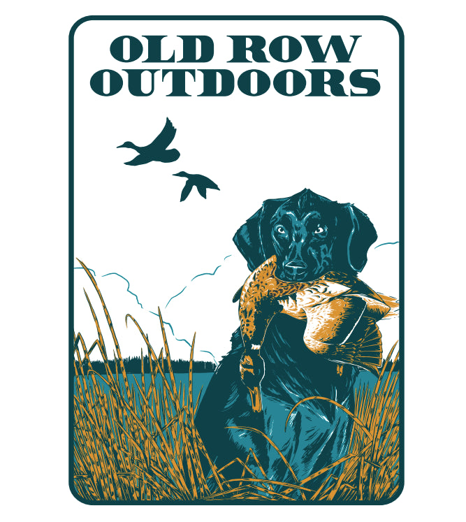 Old Row Outdoors Retriever Pocket Tee