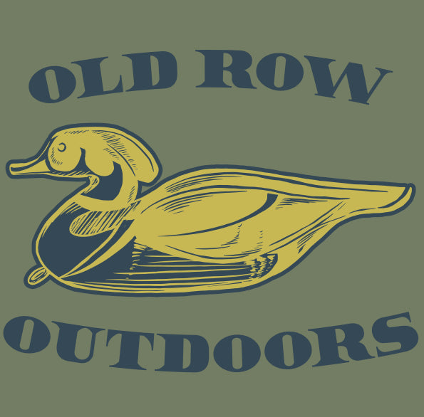 Old Row Outdoors Duck Hunt Pocket Tee