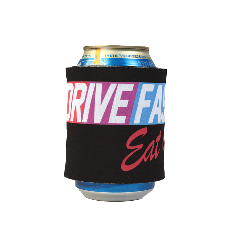 Drive Fast Eat Ass Slap Can Cooler