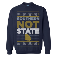 Southern Not State Tacky Christmas Sweater