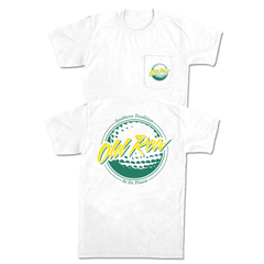 Old Row Golf Pocket Tee
