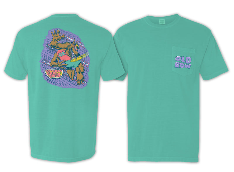 Old Row Spring Break Forever Pocket Tee