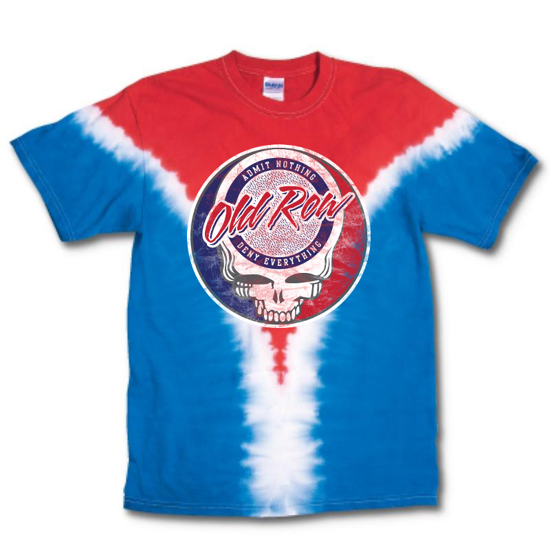 Old Row Vee Tie Dye T-Shirt