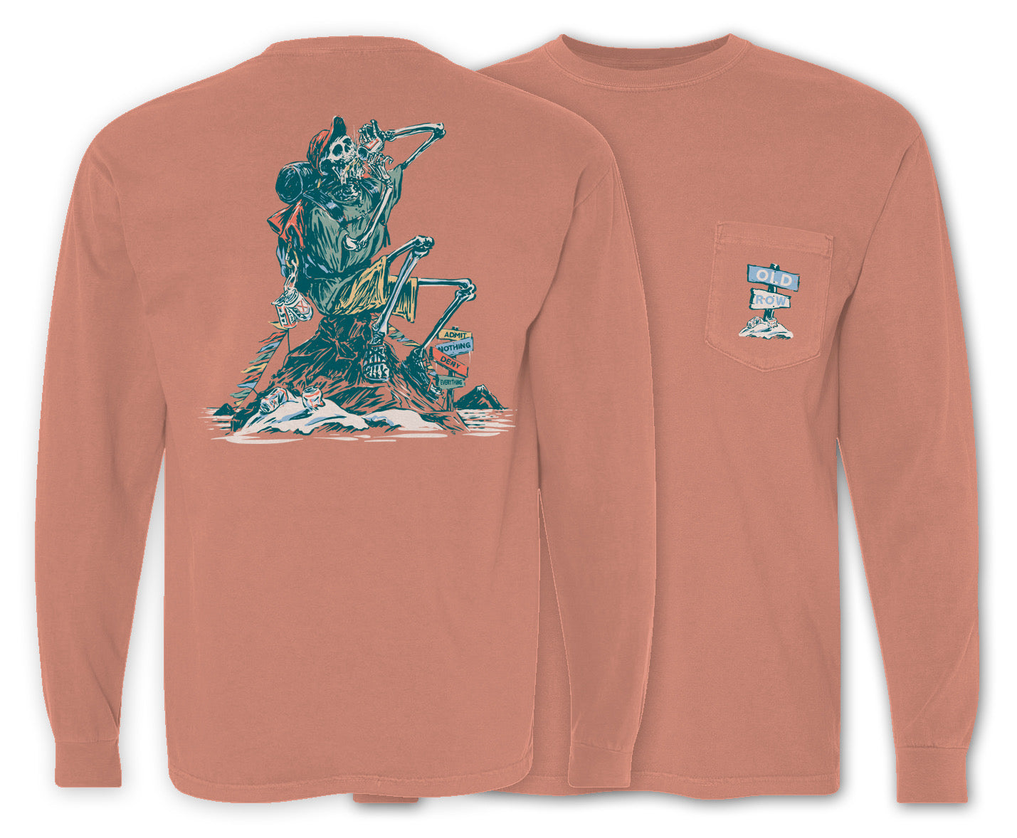 Summit Beers Long Sleeve Pocket Tee