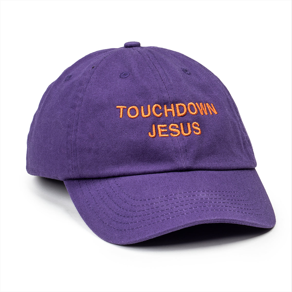 Touchdown Jesus Dad Hat