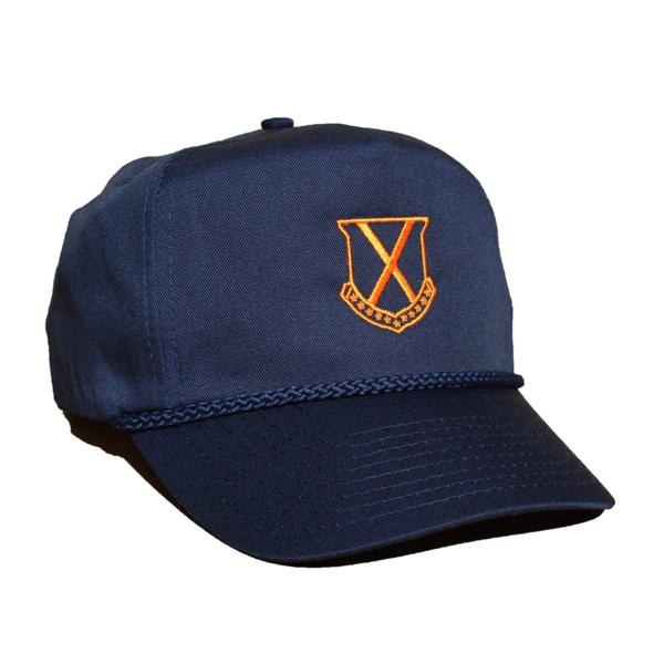Old Row Tailgate Rope Hat (Navy / Orange)