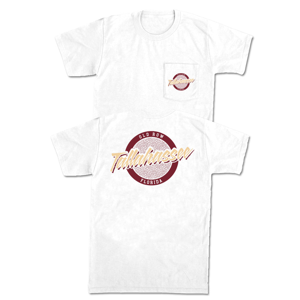 Tallahassee, Florida Circle Logo Pocket Tee