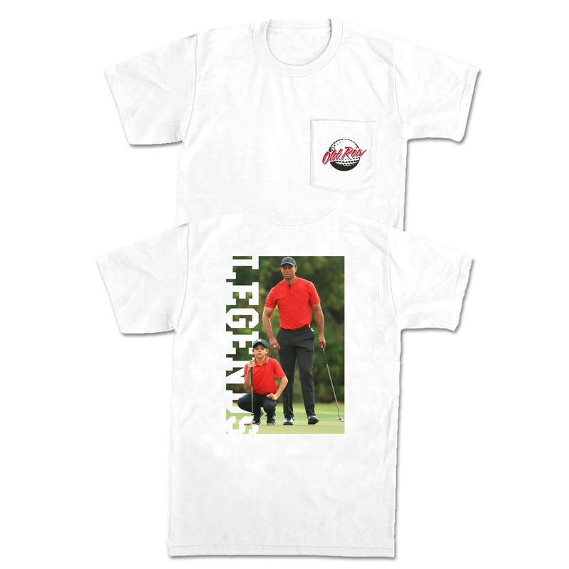 The Woods Pocket Tee