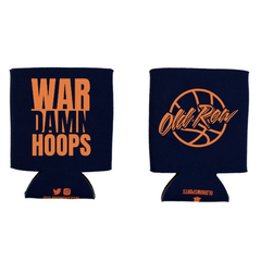 War Damn Hoops Koozie