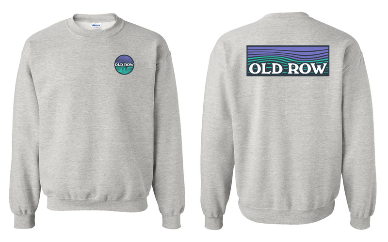Old Row Waves Crewneck Sweatshirt