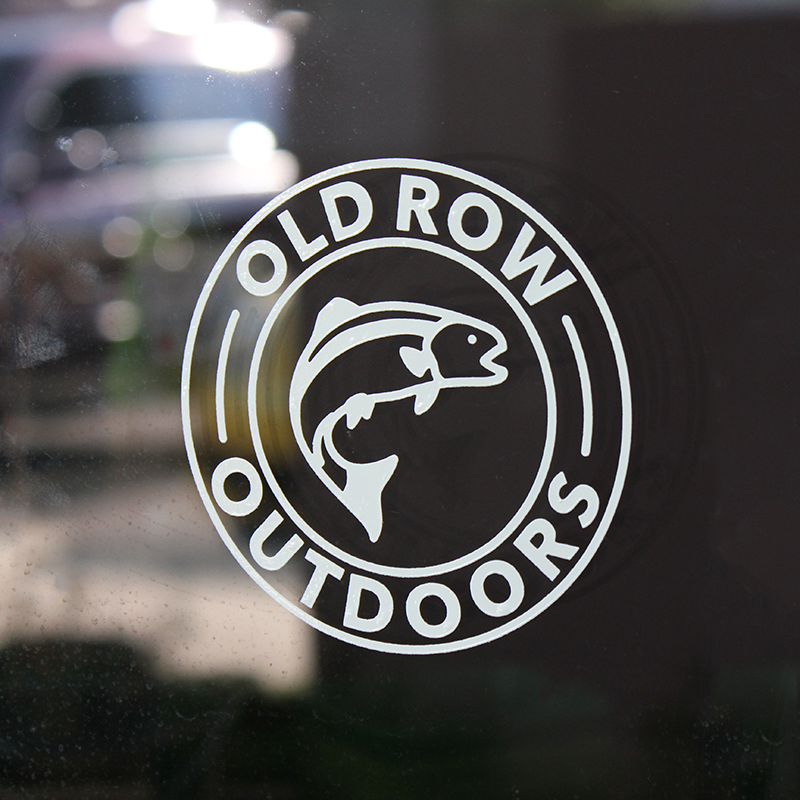 Old Row Outdoors Trout Decal
