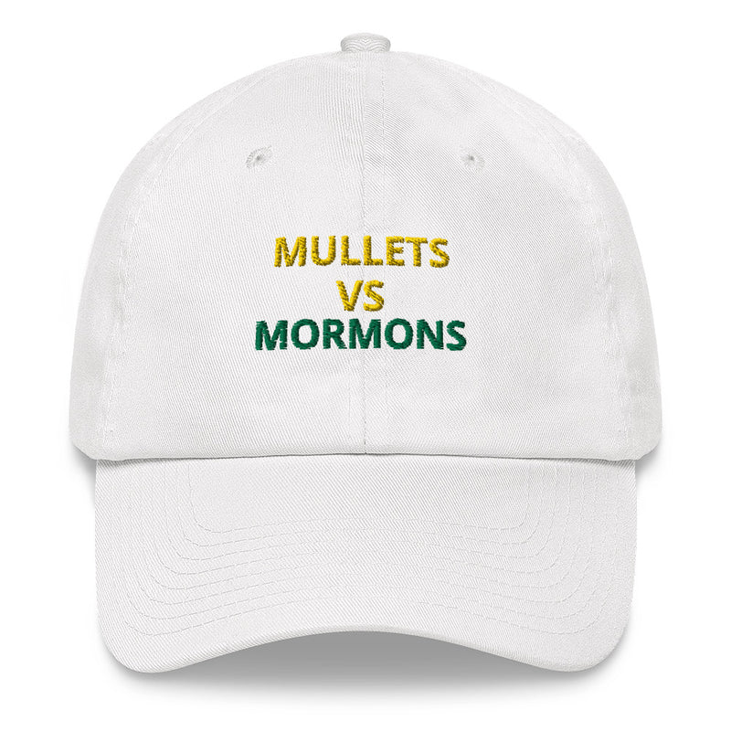 Mullets Vs. Mormons Dad Hat
