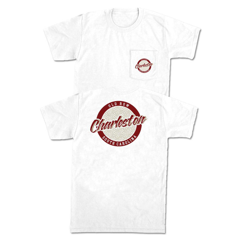 Charleston, South Carolina Circle Logo Pocket Tee