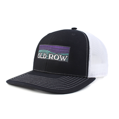 Old Row Waves Mesh Back Hat (Navy/White)