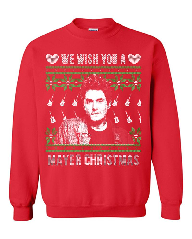 Wish You A Mayer Christmas Tacky Sweater