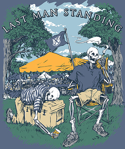 Last Man Standing Pocket Tee