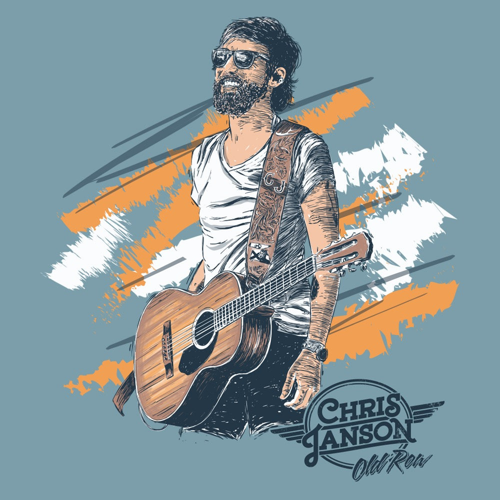 The Chris Janson Pocket Tee