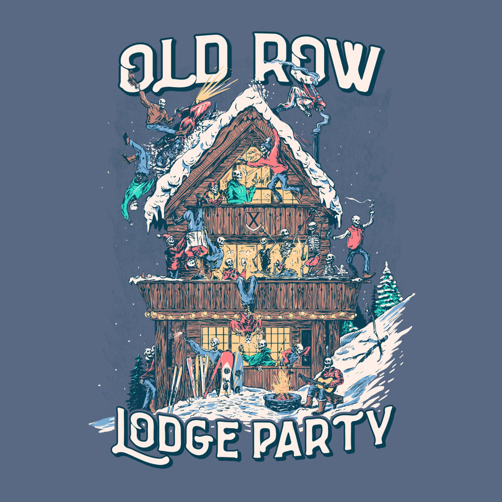 Lodge Party Longsleeve Pocket Tee